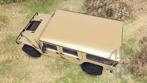 Hummer H1 tan для Spin Tires