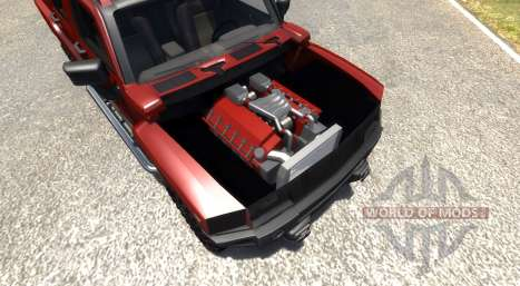 Hummer H3 для BeamNG Drive