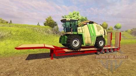 Полуприцеп трал Goldhofer для Farming Simulator 2013