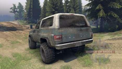 Ford Bronco для Spin Tires