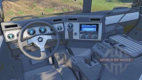 Hummer H1 camo для Spin Tires