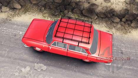 Москвич-412 для Spin Tires