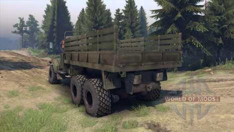 КрАЗ-255 для Spin Tires