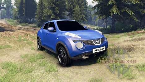 Nissan Juke для Spin Tires