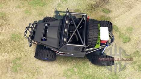 Toyota Land Cruiser Krawler для Spin Tires