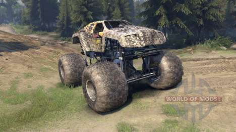 Monster Maximus для Spin Tires