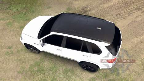 BMW X5 M для Spin Tires