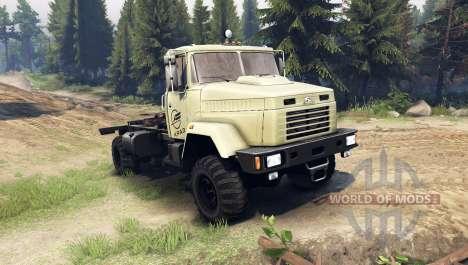 КрАЗ-5133 для Spin Tires