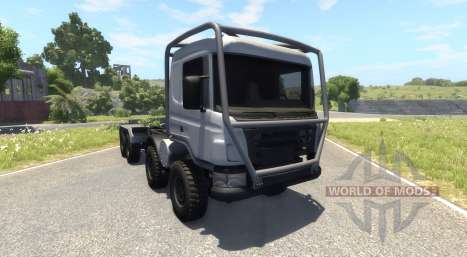 Scania 8x8 heavy utility truck для BeamNG Drive