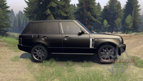 Range Rover Sport Black Final для Spin Tires