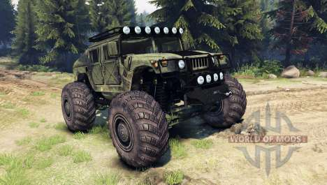HMMWV M-1025 для Spin Tires