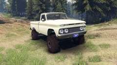 Chevrolet С-10 1966 Custom chat slate