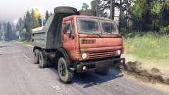 КамАЗ-5511 красная решётка