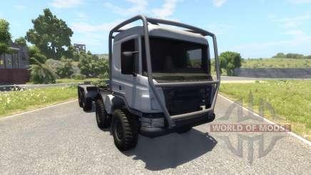 Scania 8x8 heavy utility truck для BeamNG Drive