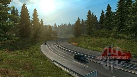 Вечный день для Euro Truck Simulator 2