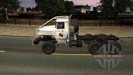 Урал 43020 для Euro Truck Simulator 2
