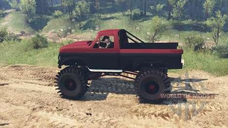 Ford F-350 1984 v1.1 для Spin Tires