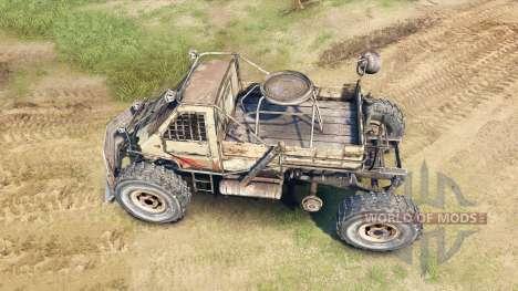 Машина из Метро 2033 для Spin Tires