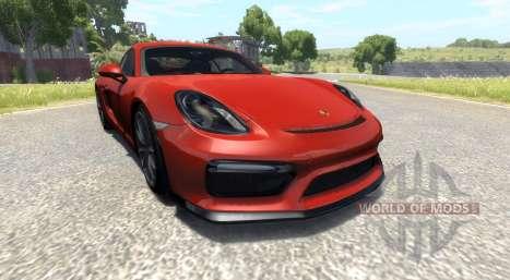 Porsche Cayman GT4 для BeamNG Drive