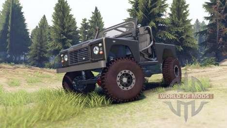 Land Rover Defender 90 [open top] для Spin Tires
