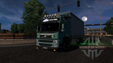 Volvo FM13 BDF для Euro Truck Simulator 2