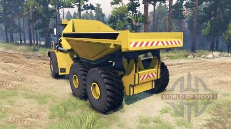 Liebherr Dump Truck v0.01 для Spin Tires