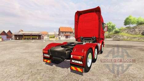 Scania R730 Topline v2.2 для Farming Simulator 2013
