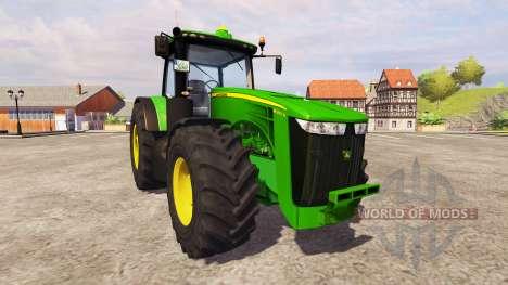 John Deere 8360R v1.5 для Farming Simulator 2013
