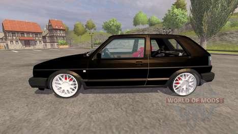 Volkswagen Golf Mk2 GTI v2.0 для Farming Simulator 2013