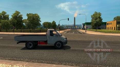 ГАЗ 3302 для Euro Truck Simulator 2