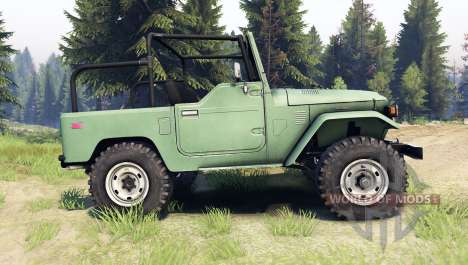 Toyota Land Cruiser (J40) для Spin Tires