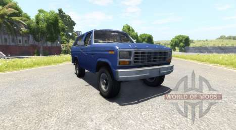 Ford Bronco 1980 для BeamNG Drive