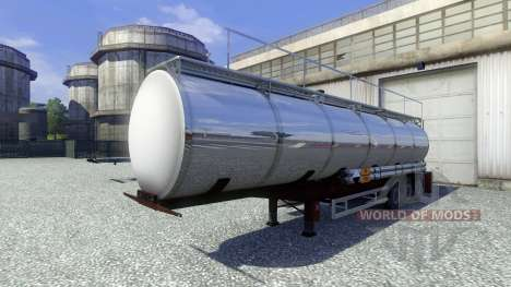 Полуприцеп-цистерна Techno Chemicals для Euro Truck Simulator 2