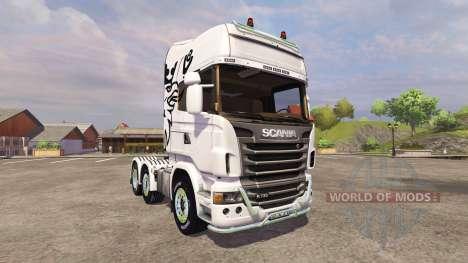 Scania R730 Topline v2.0 для Farming Simulator 2013