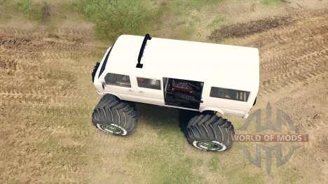 Микроавтобус для Spin Tires