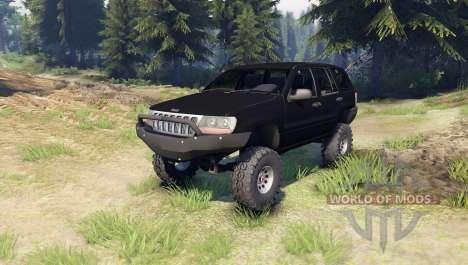 Jeep Grand Cherokee ZJ для Spin Tires