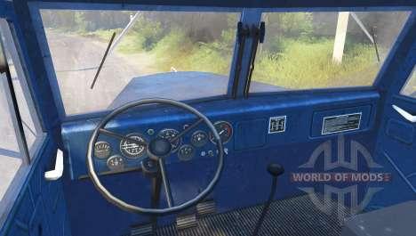 КрАЗ-258 4x2 для Spin Tires
