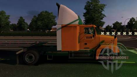 Freightliner FLD 120 4x2 для Euro Truck Simulator 2