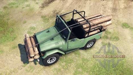 Toyota Land Cruiser (J40) для Spin Tires