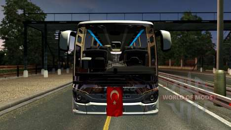 Setra 516 HDH Bus Mod First and Only для Euro Truck Simulator 2