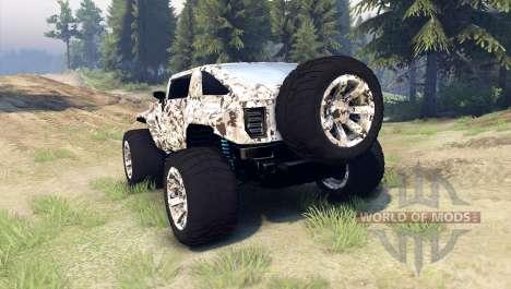 Hummer HX v2.0 для Spin Tires
