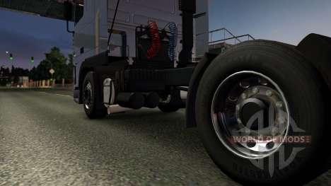 DAF 95XF SpaceCab & Interior для Euro Truck Simulator 2