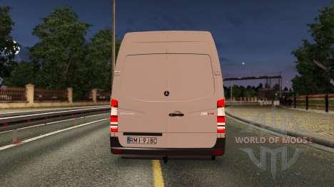 Mercedes-Benz Sprinter CDI311 2014 для Euro Truck Simulator 2