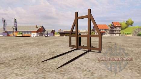 Вилы для тюков v2.0 для Farming Simulator 2013