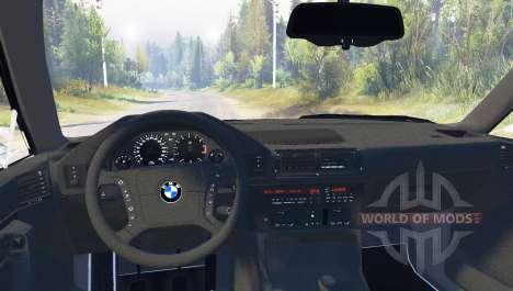 BMW 525iX (E34) Touring для Spin Tires