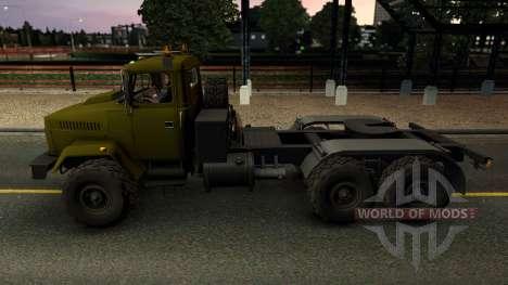 КрАЗ 6446 для Euro Truck Simulator 2