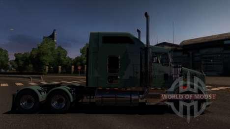 Kenworth T800 для Euro Truck Simulator 2