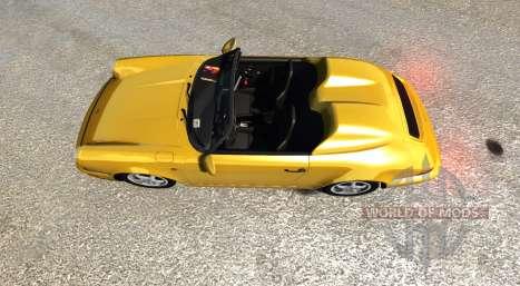 Porsche 911 Carrera 2 Speedster для BeamNG Drive