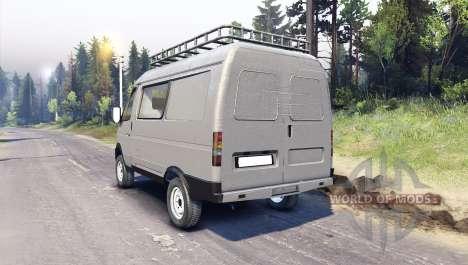 ГАЗ-27527 4x4 Соболь для Spin Tires