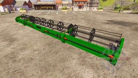 Deutz-Fahr Cutter 1320 WSR Pro для Farming Simulator 2013